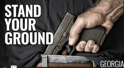 Georgia Stand Your Ground Law