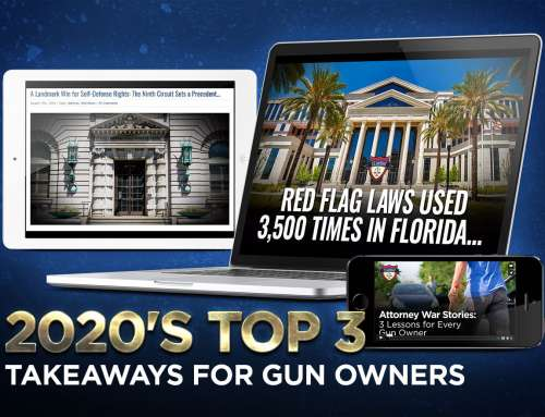 2020's Top 3 Takeaways for Gun Owners